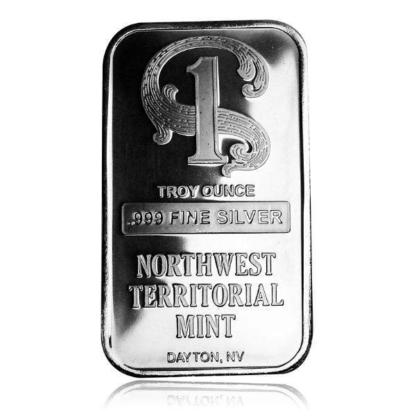 1 Oz Northwest Territorial Mint Bar